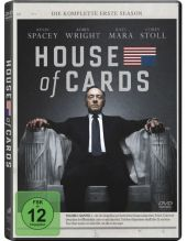 House of Cards, 4 DVDs Cover