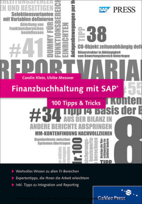 Finanzbuchhaltung mit SAP ? 100 Tipps & Tricks