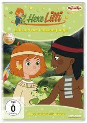 Hexe Lilli - Lilli und der Indianerjunge, 1 DVD Cover