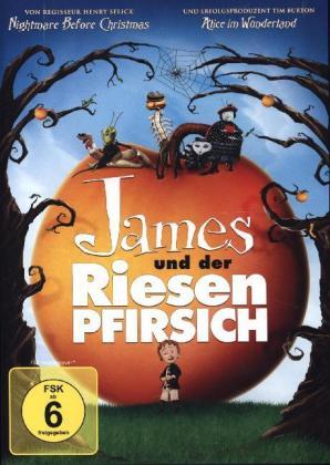 James und der Riesenpfirsich, 1 DVD