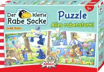 Kleiner Rabe Socke (Kinderpuzzle), Alles rabenstark!