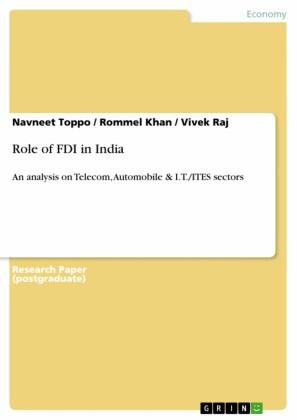Role of FDI in India
