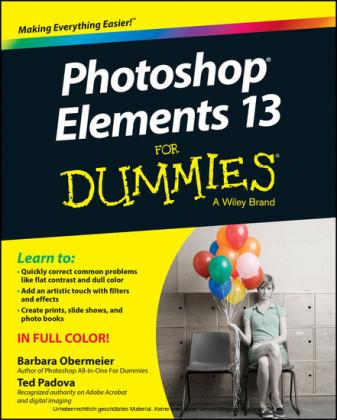 Photoshop Elements 13 For Dummies