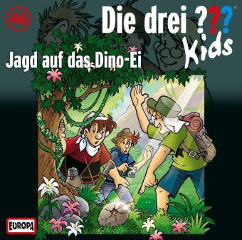 Die drei ???-Kids: Jagd auf das Dino-Ei, Audio-CD