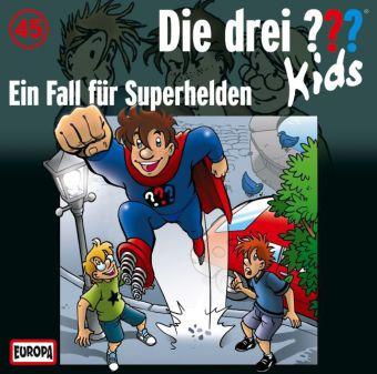 Die drei ???-Kids: Ein Fall für Superhelden, Audio-CD