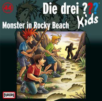 Die drei ???-Kids: Monster in Rocky Beach, Audio-CD