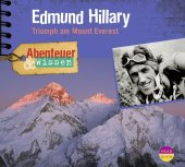 Edmund Hillary, Triumph am Mount Everest, 1 Audio-CD Cover