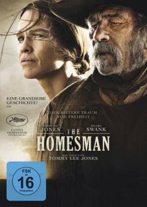 The Homesman, 1 DVD