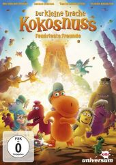 Der kleine Drache Kokosnuss, 1 DVD Cover