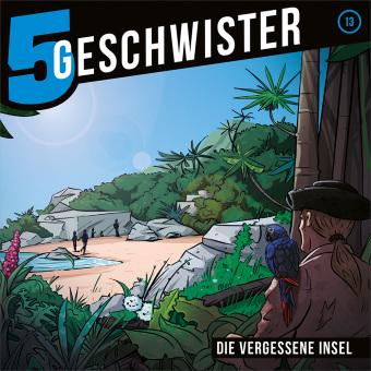 5 Geschwister - Die vergessene Insel, Audio-CD