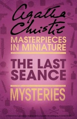 Last Seance: An Agatha Christie Short Story