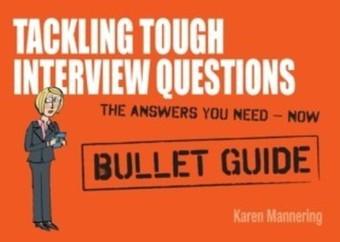 Tackling Tough Interview Questions