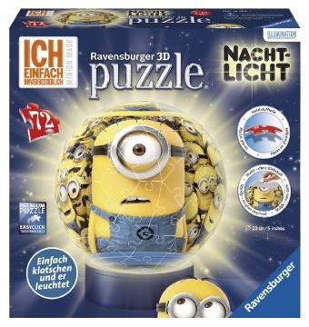 puzzleball, Nachtlicht Ich - einfach unverbesserlich, Minion made