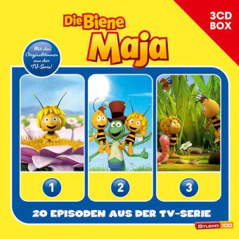 Die Biene Maja - 3-CD Hörspielbox zur neuen TV-Serie (CGI), 3 Audio-CDs Bd. 4715339