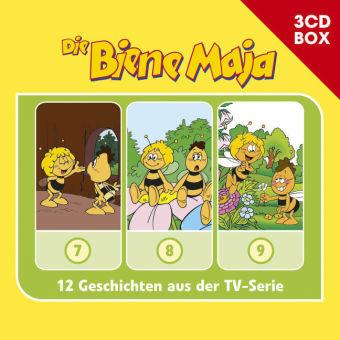 Die Biene Maja - 3-CD Hörspielbox, 3 Audio-CD Bd. 4715198