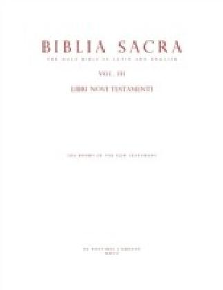 Holy Bible In Latin & English : Vol. 3