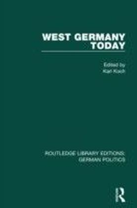 West Germany Today (RLE: German Politics)