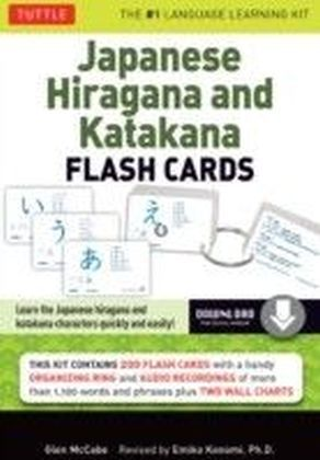 Japanese Hiragana and Katakana Flash Cards Kit