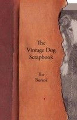 Vintage Dog Scrapbook - The Borzoi