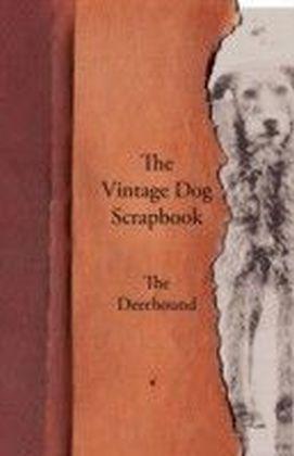 Vintage Dog Scrapbook - The Deerhound