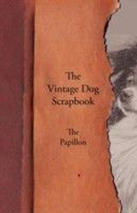 Vintage Dog Scrapbook - The Papillon