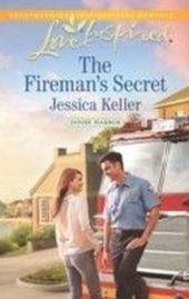 Fireman's Secret (Mills & Boon Love Inspired) (Goose Harbor - Book 2)