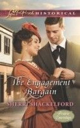 Engagement Bargain (Mills & Boon Love Inspired Historical) (Prairie Courtships - Book 1)