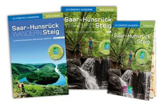 Saar-Hunsrück-Steig - Start-Set mit den offiziellen Wanderführern und Faltkarte