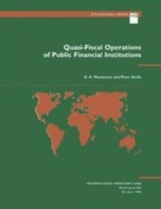 Quasi-Fiscal Operations of Public Financial Institutions
