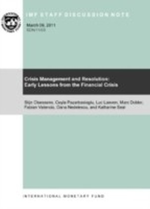 Crisis Management and Resolution: Early Lessons from the Financial Crisis