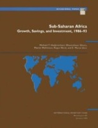 Sub-Saharan Africa: Growth, Savings, and Investment, 1986-93