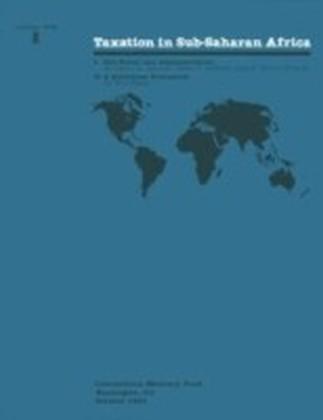 Taxation in Sub-Saharan Africa