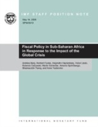 Fiscal Policy in Sub-Saharan Africa in Response to the Impact of the Global Crisis