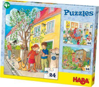 Haustiere (Kinderpuzzle)