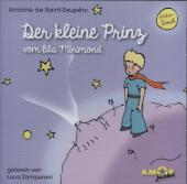 Der kleine Prinz vom lila Minimond, 1 Audio-CD Cover