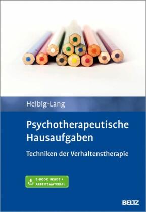 Psychotherapeutische Hausaufgaben