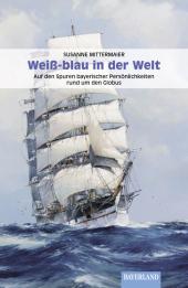 Weiß-blau in der Welt Cover