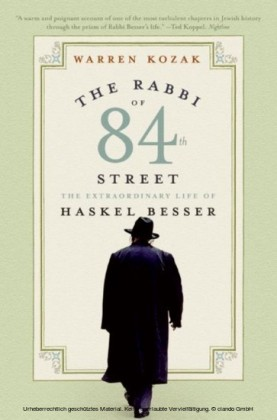 Rabbi of 84th Street