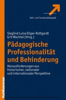 Pädagogische Professionalität und Behinderung