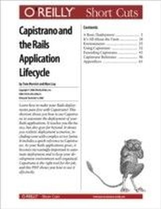 Capistrano and the Rails Application Lifecycle