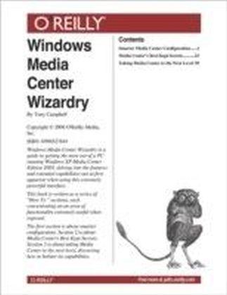 Windows Media Center Wizardry