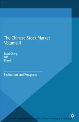 The Chinese Stock Market Volume II
