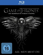 Game of Thrones, 4 Blu-rays Cover