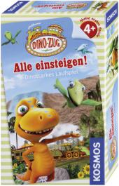 Dino-Zug - Alle einsteigen! (Kinderspiel) Cover