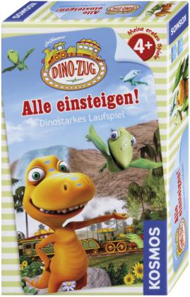 Dino-Zug - Alle einsteigen! (Kinderspiel)