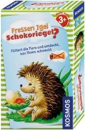 Fressen Igel Schokoriegel? (Kinderspiel) Cover