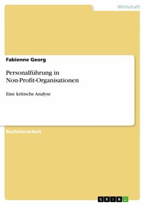 Personalführung in Non-Profit-Organisationen