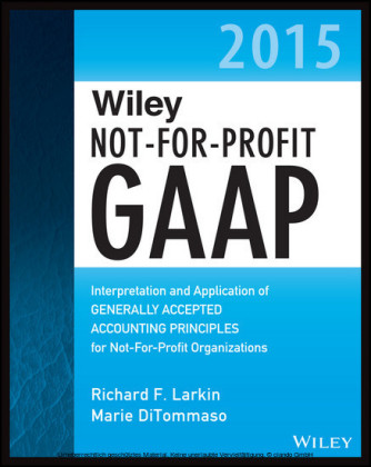 Wiley Not-for-Profit GAAP 2015,