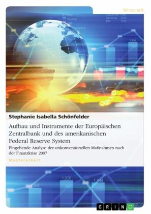 Aufbau und Instrumente der Europäischen Zentralbank und des amerikanischen Federal Reserve System?