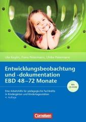 Entwicklungsbeobachtung und -dokumentation EBD 48-72 Monate, m. CD-ROM Cover
